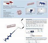 Balzer Eisbohrer Mora 175mm Klingen 2pcs