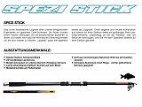 DAM Rute, Spezi Stick Tele Carp 360 2,75
