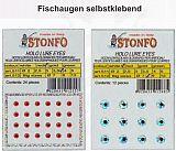 Stonfo Holo Reflex Klebeaugen 7,0mm rot
