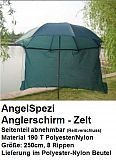 AngelSpezi Anglerschirm Anglerzelt 250cm