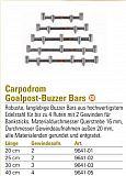 Carpodrom Goal Bar 2 Ruten 20cm