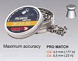 Gamo Pro Match Diabolo glatt 4.5mm 500pc
