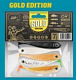 Lieblingsköder Shad -75mm -Gold Edition