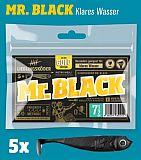 Lieblingsköder Shad -75mm Mister Black