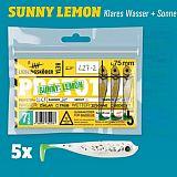 Lieblingsköder Shad -75mm Sunny Lemon