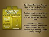 Drennan Pushstop Hair Rig Carp Feeder 16