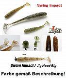 "Keitech Swing Impact 3,5"" 8cm Red Craw"