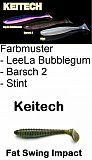 "Keitech FAT Swing Impact 3,8"" 9,5cm Ba2"