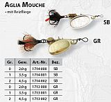 Mepps Spinner Aglia Mouche silber Gr.1