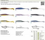 Owner Juster Shad 10cm Blue Gill