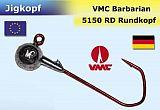 Rund Jighaken 1/0  4g VMC-5150RD 3er SB