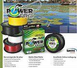 Power Pro Schnur 0,13mm  8kg Gelb