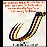 Profi Blinker Wahnsinnshaken -8 rot