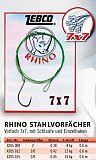 Rhino 7x7 Stahlvorfach Einzelhaken 12kg