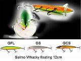 Salmo Wobbler, Whacky floating 12cm GFL
