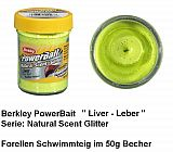 Powerbait Natural Liver Chartreuse