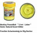 Powerbait Natural Liver Sunshine Yellow