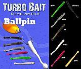 Turbo Bait Ballpin 4.5cm #silber