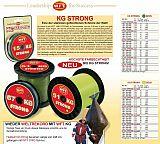 WFT Schnur 10kg Strong gelb ab 100m
