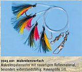 Zebco Makrelenvorfach 4 Haken 1/0 Reflex