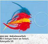 Zebco Makrelenvorfach 4 Haken 3/0 bunt