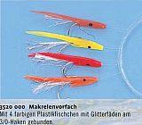 Zebco Makrelenvorfach 4 Haken 3/0 Fische