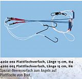 Zebco Plattfisch Buttsystem 3 Haken Gr.6